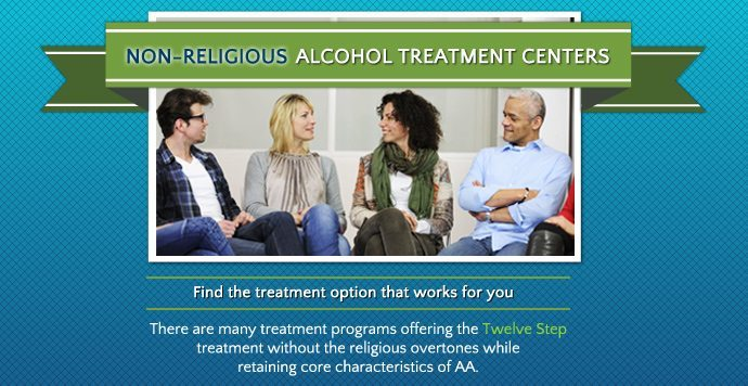 Non-Religious Alcohol Treatment Recovery Centers
