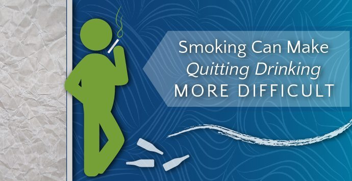 Smoking Can Make Quitting Drinking More Difficult