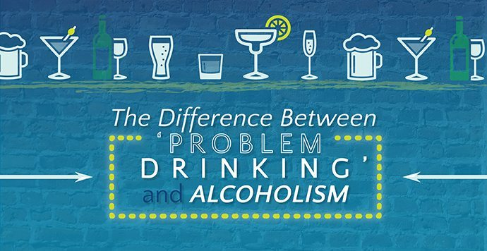 The Difference Between 'Problem Drinking' and Alcoholism