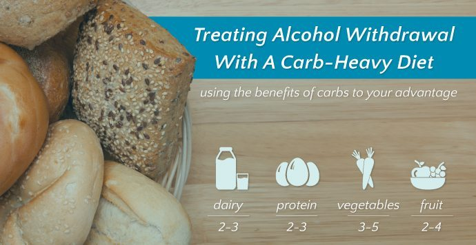 Treating Alcohol Withdrawal With A Carb-Heavy Diet