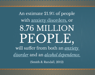 AlcoholTreatment.net Alcohol and Anxiety Disorders 8.76 MIllion People