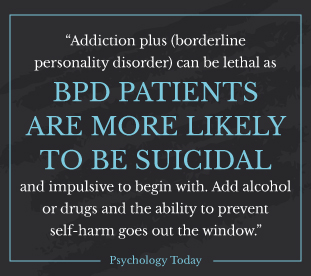 AlcoholTreatment.net Borderline Personality Disorder and Alcohol Blackouts Likely To Be Suicidal