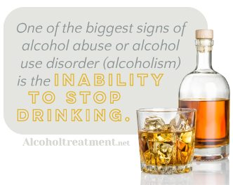 AlcoholTreatment.net Five Signs Your Loved One Is Drinking Too Much Inability To Stop Drinking