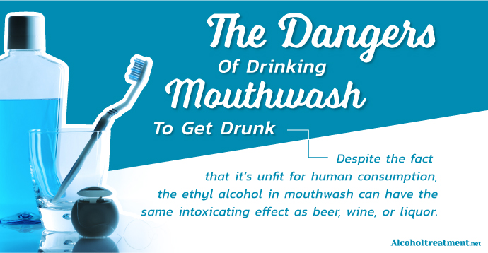 The Dangers Of Drinking Mouthwash To Get Drunk