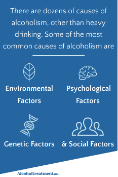 AlcoholTreatment.net Alcoholism Causes And Risk Factors Common Causes