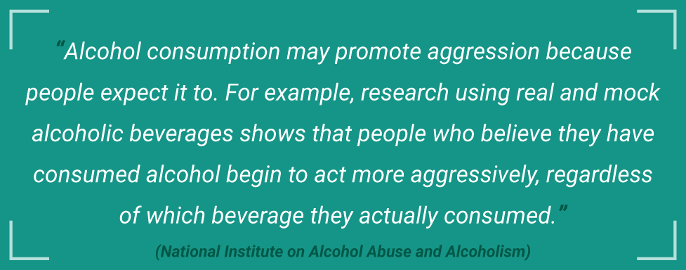 AlcoholTreatment.net Alcohol-Related Crimes Alcohol Consumption May Promote Aggression