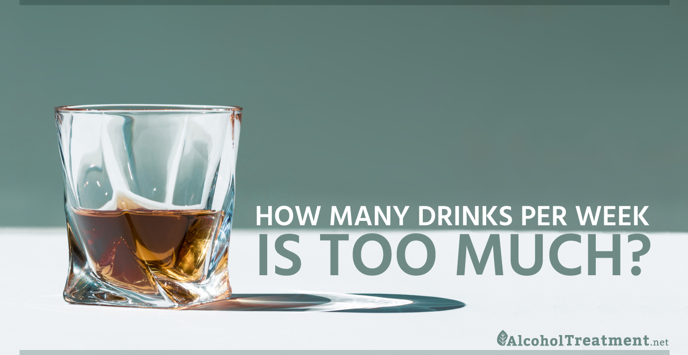 AlcoholTreatment.net How Many Drinks Per Week Is Too Much